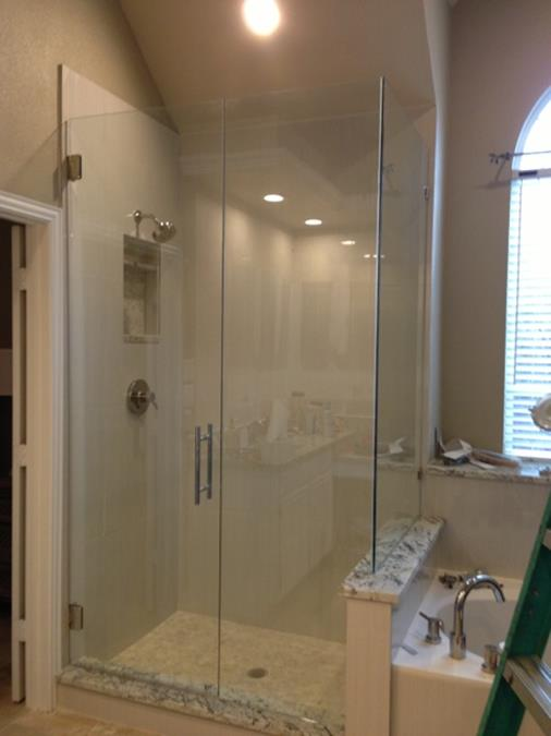 Frameless Shower corner shower (1) (Copy)
