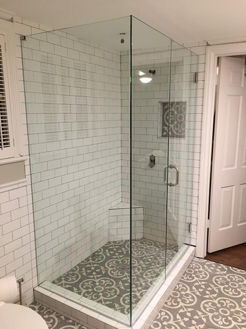 Frameless seamless custom shower enclosure (Copy)